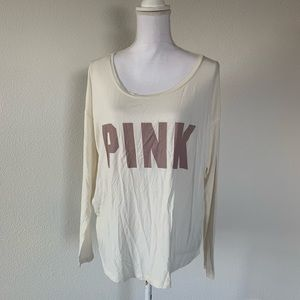 Victoria's Secret PINK Supersoft Long Sleeve Top M